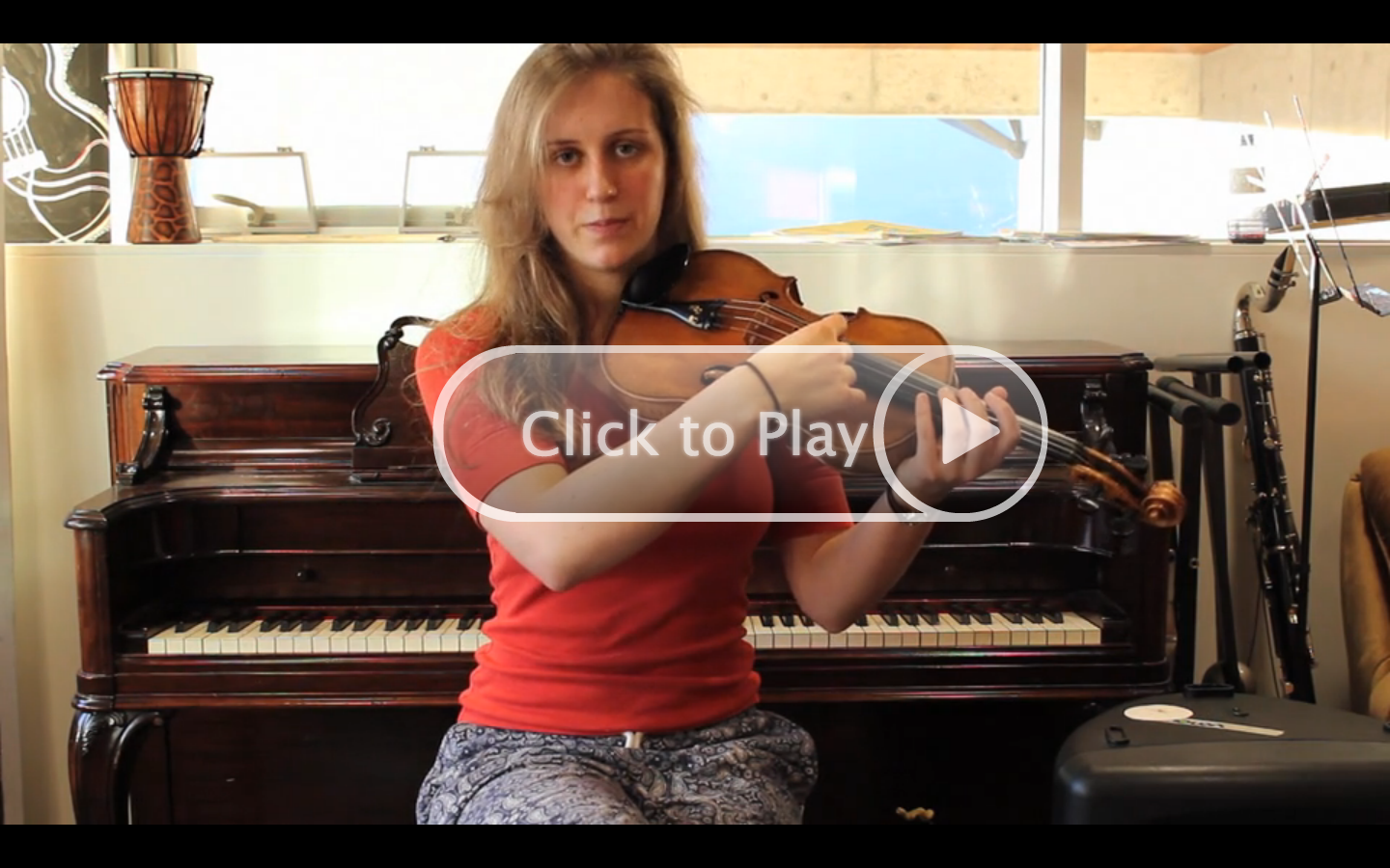 Lesson 5: Tuning the Violin