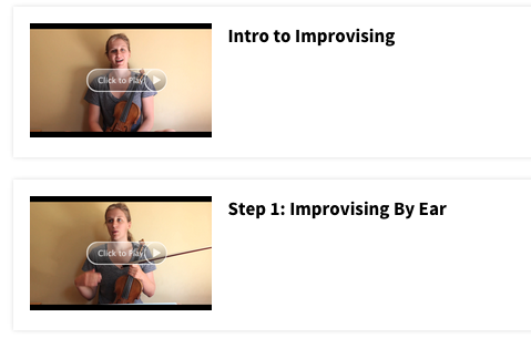 How To Improvise