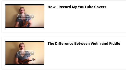 Violin FAQs